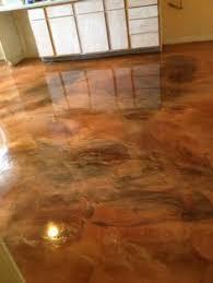 concrete floors in the basement great idea basement small