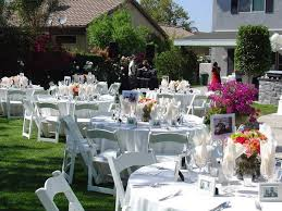 outdoor wedding ideas on a budget triyae backyard wedding centerpiece ideas various design