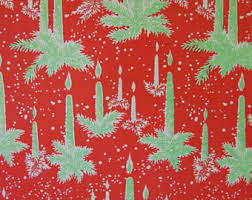 beautiful christmas wrapping paper vintage wrap paper etsy