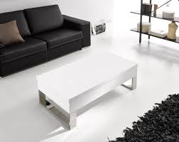 Table Verre Pied Central by Table Basse Blanc Design Moderne U2026 à Latablebasse