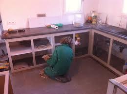comment faire une cuisine decor cuisine en siporex crochet mezzanine travail chaises