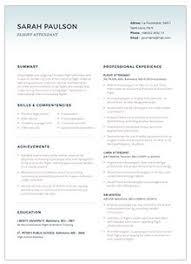 Flight Attendant Sample Resume by 3 1 Flight Attendant Resume Template And Sample Flight Attendant