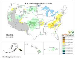 Northern Florida Map by Drought April 2016 State Of The Climate National Centers For