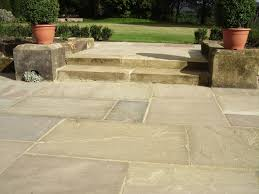 Patio Pavers Ta Raj Green Varied Depth Priceless Paving