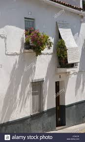 traditional style house in cortegana andalusia southern spain