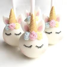 cake pops sleeping unicorn cake pops by popalicious cake pops