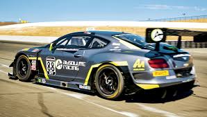 bentley factory taking a spin on the track in bentley u0027s continental gt3 racecar