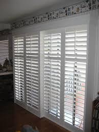 sliding door wood blinds nice wood sliding patio doors best 20