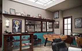 Latest Barber Shop Interior Design Nike Barbershop The Inspiration Room