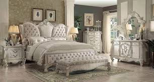 white on bedroomclassic bedroom bedrooms furniture ivory velvet white bone sleigh bed ac chatueau traditional bedroom