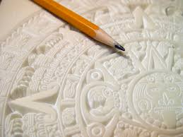 How Thick Is Corian Mayan Calendar Carved In 1 4 Inch Thick Corian Solid Surface
