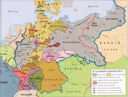 Vilseck Germany Map by Map Of German Unification North German Confederation German