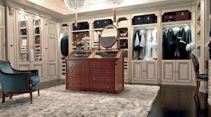 luxury walk in closet dressing room martini mobili