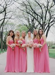 fuschia bridesmaid dress pastel pink bridesmaid dress naf dresses