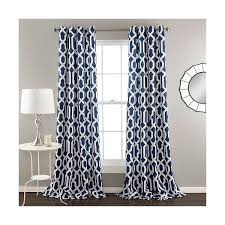 Navy Patterned Curtains Wonderful Navy Blue Patterned Curtains And Best 20 Target Curtain