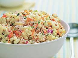 pasta salad with tuna picnic perfect tuna and macaroni salad recipe myrecipes