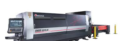 amada laser cutting machine ensis 3015 aj continuously from thin