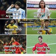 Funny Messi Memes - funny ronaldo vs messi memes google search futbol pinterest