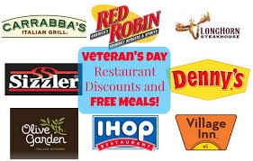 restaurant discounts veteran s day restaurant discounts and freebies active and