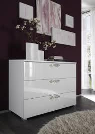 commode design chambre commode design 3 tiroirs laquée blanche estelle commode et