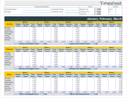 Free Timesheet Template Excel Timesheet Template Excel Thebridgesummit Co