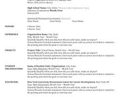 a written resume ideas intership cover letter examples college