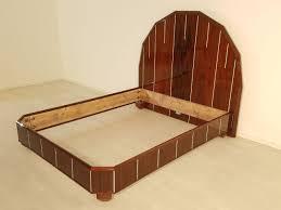 Antique Art Deco Bedroom Furniture by Art Deco Bed Made Of Palisanderwood Original Antique Furniture