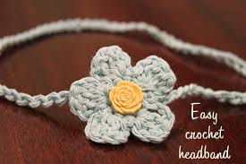 crochet flower headband crochet headband craft c skip to my lou