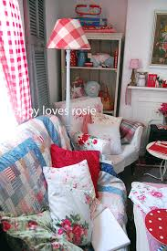 happy blogs about her life loves and whimsy home decor with a