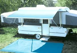 Travel Trailer Awning Replacement Fabric Travel Trailer Awnings Installation Double Awning One End Travel