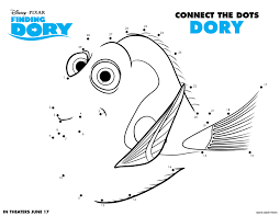 finding dory coloring pages and activity sheets at and activities