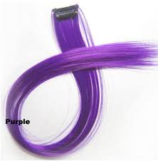 purple hair extensions popular one hair extensions accessories