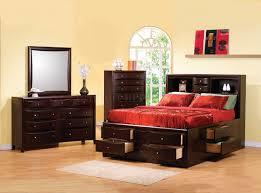Nice Bedroom Furniture Phoenix 200409 Bedroom By Coaster W Multi Drawer Bed