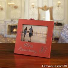 40 year anniversary gift a 40th ruby wedding anniversary gift photo album gifts for