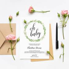 how to create your own baby shower invitations in 3 easy steps