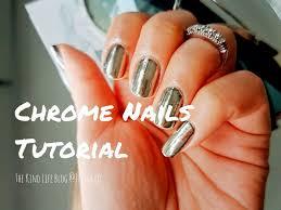 chrome nails mirror powder tutorial no uv light julisa