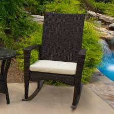 White Rocking Chair Outdoor by Bayview Rocking Chair Pecan Tortuga Outdoor Of Georgia