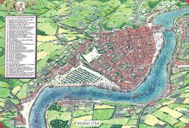 Paper Towns On Maps Bilbao In 1764 The Largest City In The Basque Country And The