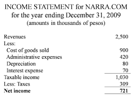 Basic Income Statement Template by Financial Statement Elevate Your Financial Well Being