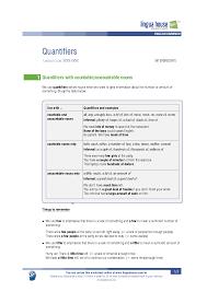 quantifiers worksheet preview linguahouse com