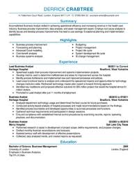 Sample Of Business Analyst Resume by Eye Grabbing Analyst Resumes Samples Livecareer