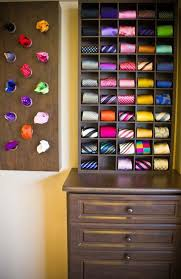 Ideas For Wall Mounted Tie Rack Design 97 Best Tie Storage Ideas Images On Pinterest Organization Ideas