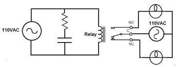relay driver circuit using ic uln2003 and its working