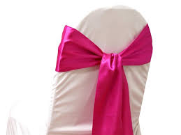 pink chair sashes 10 new satin chair sash bows ties wedding bridal party supplies