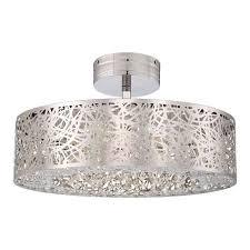 Semi Flush Mount Ceiling Light Hidden Gems Led Semi Flush Ceiling Light By George Kovacs Ylighting