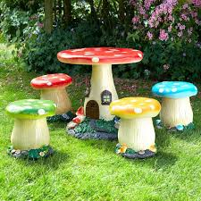 add a touch of to any garden with this 5 toadstool