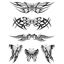 tribal butterfly tattoos pictures to pin on pinterest tattooskid