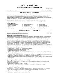 sample resume skills for customer service resume template and