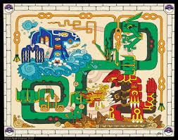Hoenn Map Hoenn Legendary Trio Mayan Style Pokemon