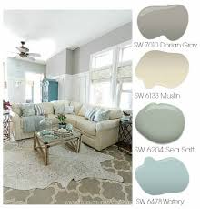 Dorian Gray Family Room Reveal With Gallery Wall Spring Painting - Color schemes for family room